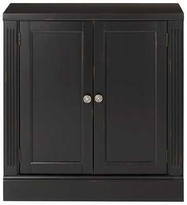 Edinburgh Pier Cabinet - Black - Home Decorators