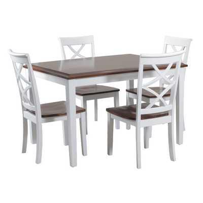 Harrison 5 Piece Dining Set - Wayfair