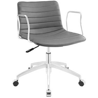 CELERITY OFFICE CHAIR IN GRAY - Modway Furniture