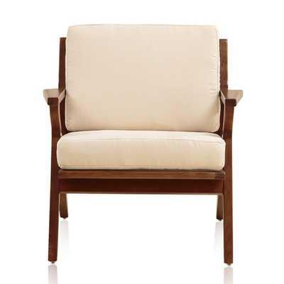 Martelle Leisure Arm Chair - Cream - AllModern