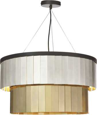 armour chandelier - CB2