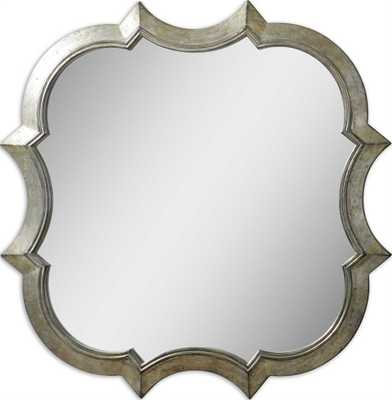 Farista Antique Silver Mirror - Hudsonhill Foundry