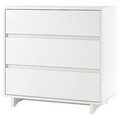 Modern 3 Drawer Dresser White - Target