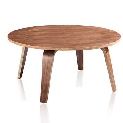 Copenhagen Coffee Table - Walnut - AllModern