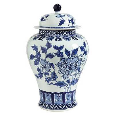 Blue & White Chinoiserie Collection - Large Temple - Ballard Designs