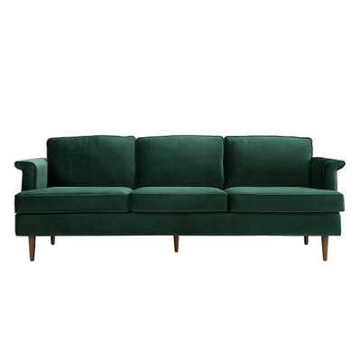 Leia Forest Green Sofa - Maren Home