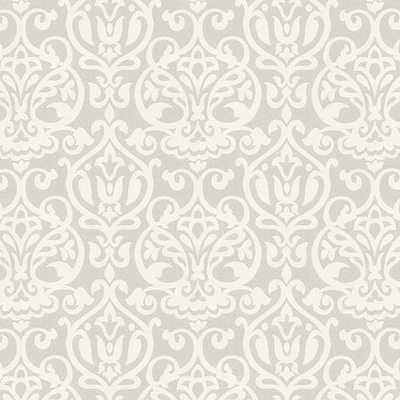 Emmeline Gray Fabric by the Yard - Ballard Designs