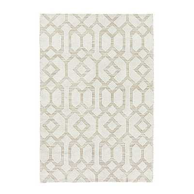 Saylor Indoor/Outdoor Rug - Cream - 5x7'6 - Ballard Designs