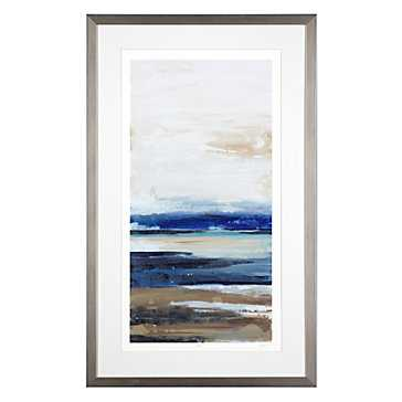 Transformation 2 - Limited Edition -25.75''W x 41.75''H  -Framed (silver) - Z Gallerie