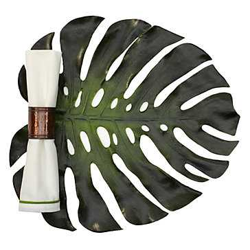 Monstera Leaf Placemat - Set of 4 - Z Gallerie