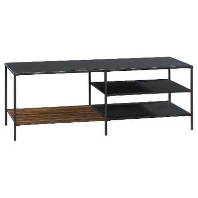 Mixed Material Universal TV Stand - Target