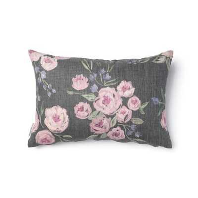 Jardin Noir Pillow - 16 x 26'', Insert not included - Caitlin Wilson