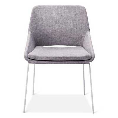 Dining Chair White/Gray - Modern by Dwell Magazine - Target