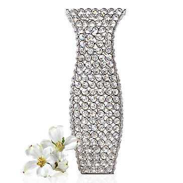 """Bling Vase - 15""""H - Z Gallerie"""