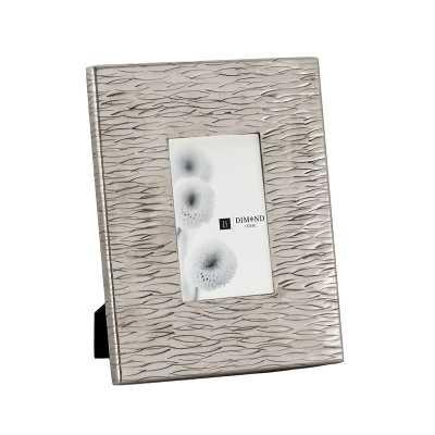 Small Aluminum Textured Photo Frames - Rosen Studio