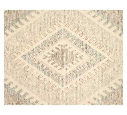 TAOS DIAMOND TUFTED RUG- NEUTRAL - 9' x 12' - Pottery Barn