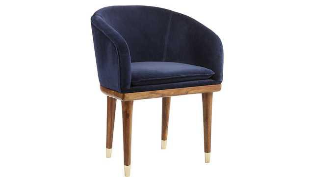blue sapphire chair - CB2