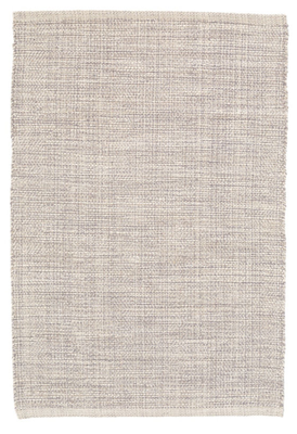Marled Grey Woven Cotton Rug - 8 x 10 - Dash and Albert