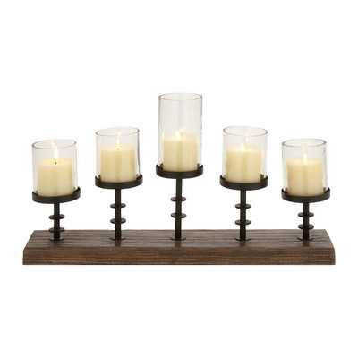 Amazing Styled Wood Metal Glass - Wayfair