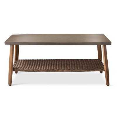 Mayhew Wicker Outdoor Coffee Table - Threshold™ - Target