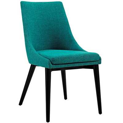 Viscount Fabric Dining Chair in Teal - Modway Furniture