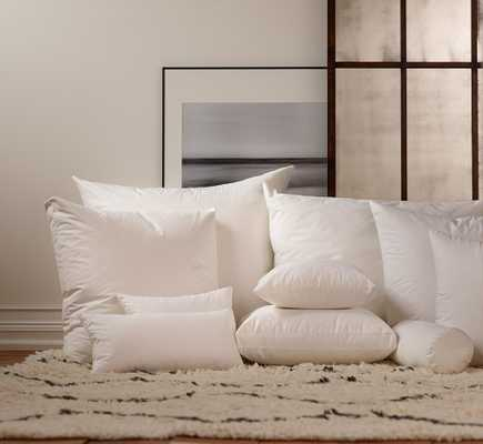 12 x 23 Down Decorative Pillow Insert - Havenly Recommended Basic - Noble Feather Co.