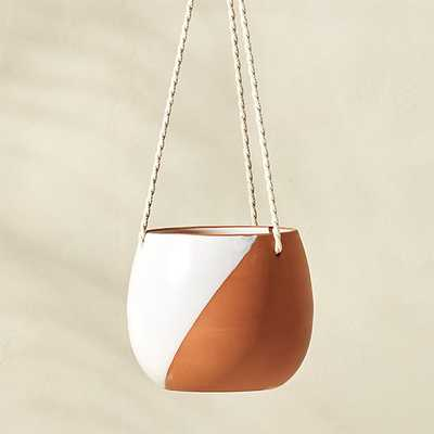 Cove Large Hanging Planter - CB2