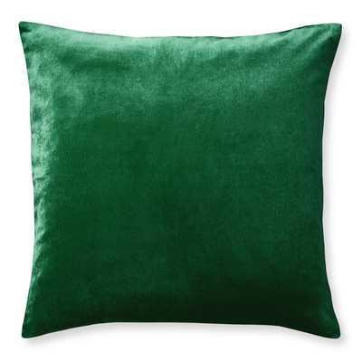 Velvet Pillow Cover, Watercress - Williams Sonoma Home