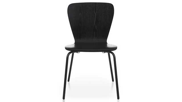 Felix Black Dining Chair - Crate and Barrel