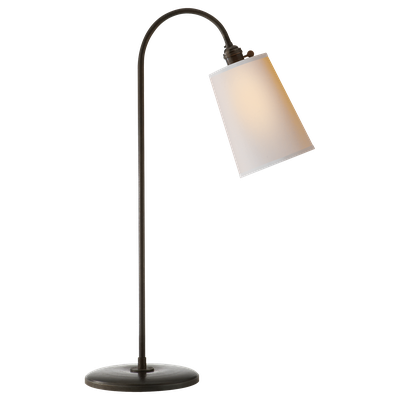 Mia Table Lamp - Aged Iron with Natural Paper Shade - Circa Lighting