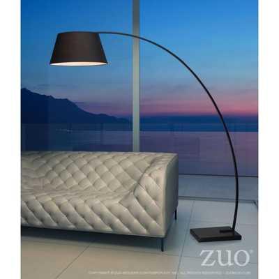 VORTEX FLOOR LAMP - BLACK - Zuri Studios