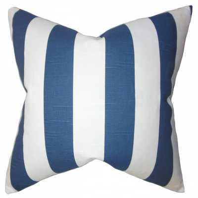 Acantha Stripes Pillow - 18x18, With Insert - Linen & Seam