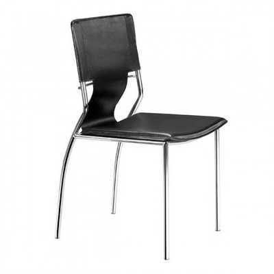 Trafico Dining Chair Black, Set of 4 - Zuri Studios