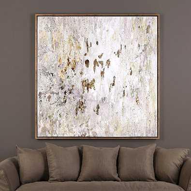 Uttermost Golden Raindrops Modern Abstract Wall Art - Bed Bath & Beyond