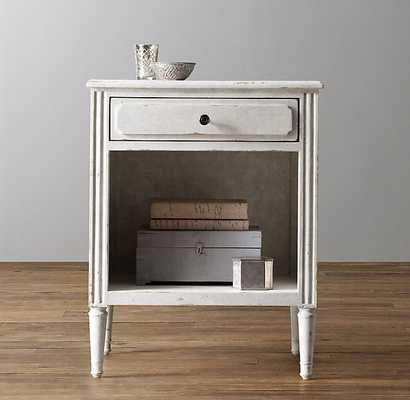 Marcelle OPEN nightstand - VINTAGE GRAY - RH Baby & Child