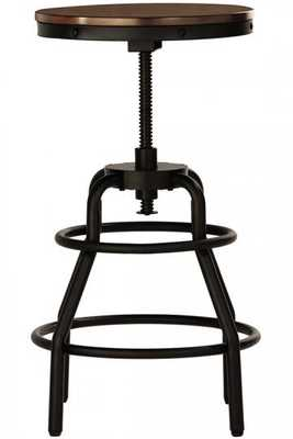 INDUSTRIAL MANSARD STOOL - Home Decorators