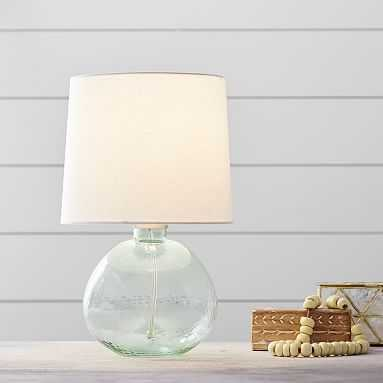 Kaya Glass Table Lamp, Yuca - Pottery Barn Teen