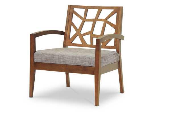 Baxton Studio Jennifer Modern Lounge Chair - Lark Interiors