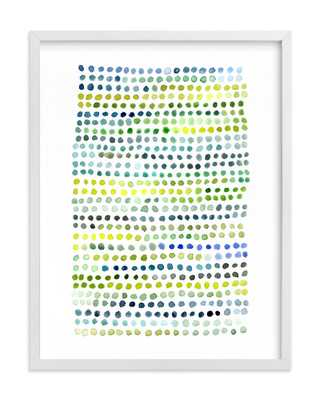 "Little Dots - 18"" x 24"" - White Frame, No Mat - Minted"
