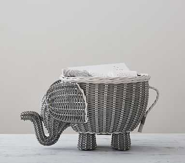 Elephant Shaped Storage - Pottery Barn Kids