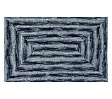 Mercer Rug 8x10 Feet - Navy - Pottery Barn Kids