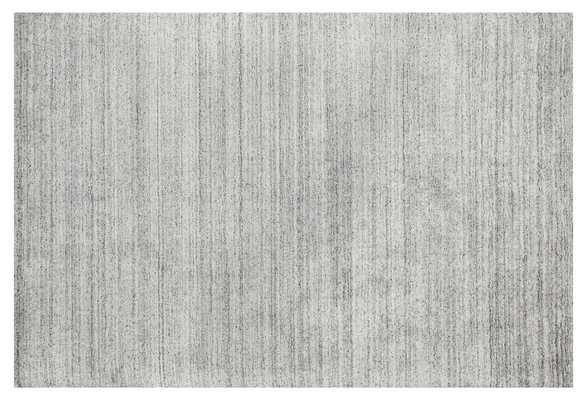 "7'5""x9'5"" Eliza Rug, chic, Silver - One Kings Lane"