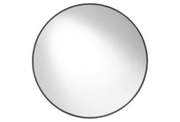 Serena Wall Mirror, Mocha - One Kings Lane