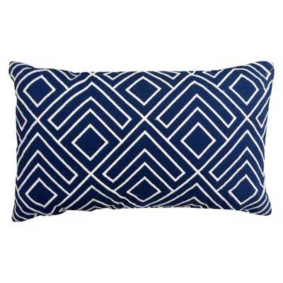 Lumbar Pillow - Navy - Threshold - Target
