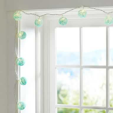 Woven Globe String Lights, Pool - Pottery Barn Teen