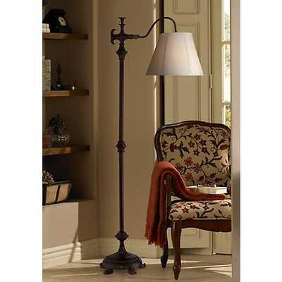 Hancock Traditional Bronze Downbridge Floor Lamp - Lamps Plus