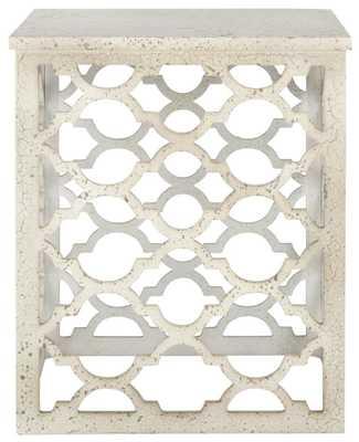 Lonny End Table - White - Arlo Home
