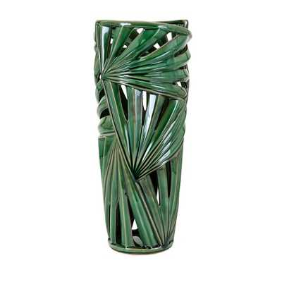 Palmetto Large Vase - Mercer Collection