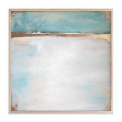 """Daydream No. 1 - 30"""" x 30"""" - Framed (Matte Brass), Full Bleed - Minted"""