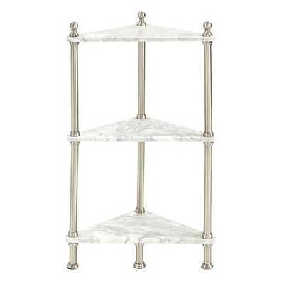 Marble Corner Shelf - Ballard Designs